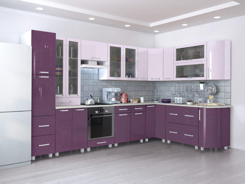 кухни в цвете янтарь металлик фото вариант темный
